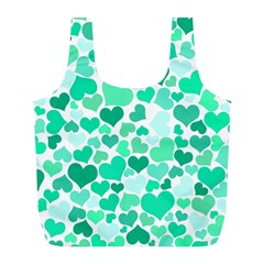 Heart 2014 0916 Full Print Recycle Bags (l)  by JAMFoto