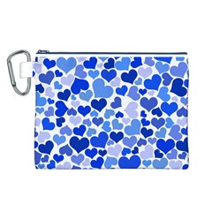 Heart 2014 0922 Canvas Cosmetic Bag (l) by JAMFoto