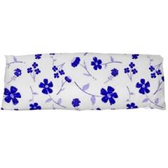 Sweet Shiny Flora Blue Body Pillow Cases (dakimakura)  by ImpressiveMoments