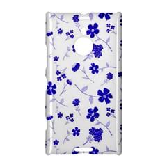 Sweet Shiny Flora Blue Nokia Lumia 1520