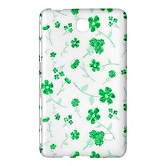Sweet Shiny Floral Green Samsung Galaxy Tab 4 (7 ) Hardshell Case  by ImpressiveMoments