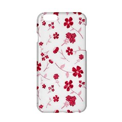 Sweet Shiny Floral Red Apple iPhone 6/6S Hardshell Case by ImpressiveMoments