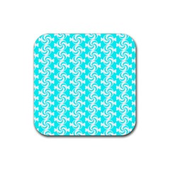 Candy Illustration Pattern Rubber Square Coaster (4 Pack)  by creativemom
