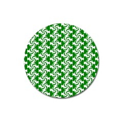 Candy Illustration Pattern Magnet 3  (round) by creativemom