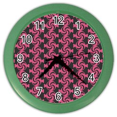 Candy Illustration Pattern Color Wall Clocks by creativemom