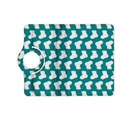 Cute Baby Socks Illustration Pattern Kindle Fire Hd (2013) Flip 360 Case by creativemom