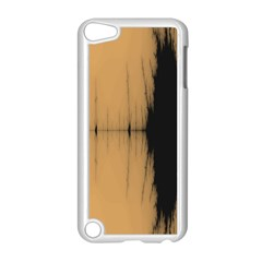Sunset Black Apple Ipod Touch 5 Case (white) by theunrulyartist