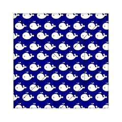 Cute Whale Illustration Pattern Acrylic Tangram Puzzle (6  X 6 ) by creativemom