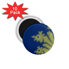 Blue And Green Design 1 75  Magnets (10 Pack)  by theunrulyartist