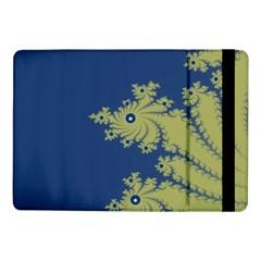 Blue And Green Design Samsung Galaxy Tab Pro 10 1  Flip Case by theunrulyartist
