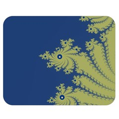 Blue And Green Design Double Sided Flano Blanket (medium)  by theunrulyartist