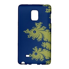Blue And Green Design Galaxy Note Edge by theunrulyartist