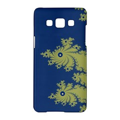 Blue And Green Design Samsung Galaxy A5 Hardshell Case  by theunrulyartist