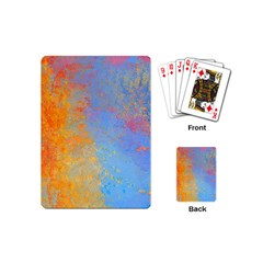 Hot And Cold Playing Cards (mini)  by theunrulyartist
