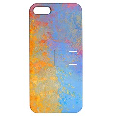 Hot And Cold Apple Iphone 5 Hardshell Case With Stand by theunrulyartist