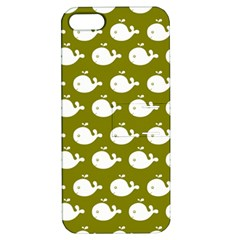 Cute Whale Illustration Pattern Apple Iphone 5 Hardshell Case With Stand by creativemom