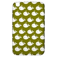Cute Whale Illustration Pattern Samsung Galaxy Tab 3 (8 ) T3100 Hardshell Case  by creativemom