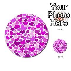 Heart 2014 0930 Multi Purpose Cards (round)