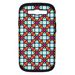 Cute Pattern Gifts Samsung Galaxy S Iii Hardshell Case (pc+silicone) by creativemom