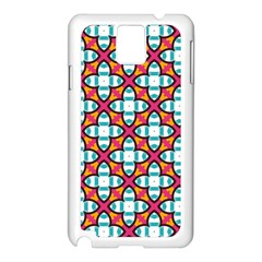 Cute Pattern Gifts Samsung Galaxy Note 3 N9005 Case (white) by creativemom