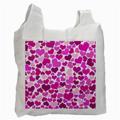 Heart 2014 0931 Recycle Bag (two Side)  by JAMFoto