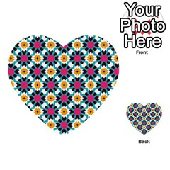 Cute Pattern Gifts Multi Purpose Cards (heart)  by creativemom