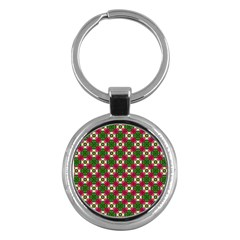 Cute Pattern Gifts Key Chains (round)  by creativemom