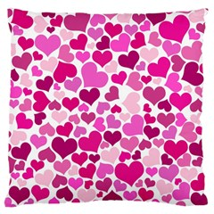 Heart 2014 0932 Standard Flano Cushion Cases (two Sides)