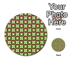 Cute Pattern Gifts Multi Purpose Cards (round)  by creativemom