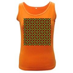 Cute Pattern Gifts Women s Dark Tank Tops by creativemom