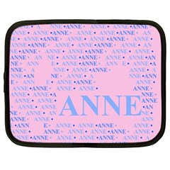 Anne Netbook Case (xxl)  by MoreColorsinLife