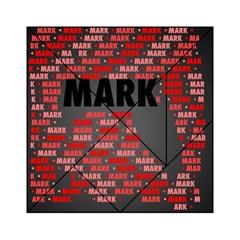 Mark Acrylic Tangram Puzzle (6  x 6 ) by MoreColorsinLife