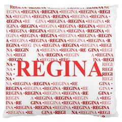Regina Standard Flano Cushion Cases (One Side)  by MoreColorsinLife