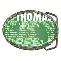 Thomas Belt Buckles by MoreColorsinLife
