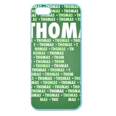 Thomas Apple Seamless Iphone 5 Case (color) by MoreColorsinLife