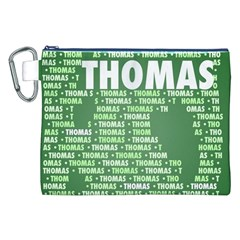 Thomas Canvas Cosmetic Bag (xxl)  by MoreColorsinLife