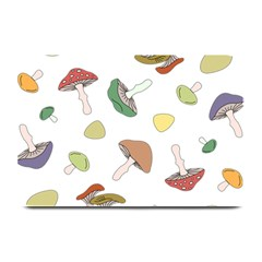 Mushrooms Pattern 02 Plate Mats by Famous