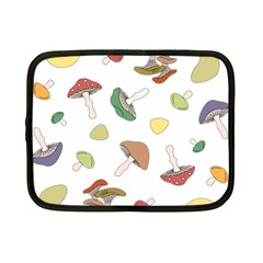 Mushrooms Pattern 02 Netbook Case (small)  by Famous