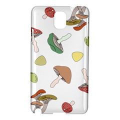 Mushrooms Pattern 02 Samsung Galaxy Note 3 N9005 Hardshell Case by Famous