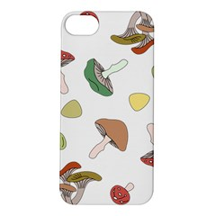 Mushrooms Pattern 02 Apple Iphone 5s Hardshell Case by Famous