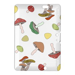Mushrooms Pattern 02 Kindle Fire Hdx 8 9  Hardshell Case by Famous