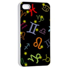 All Floating Zodiac Signs Apple Iphone 4/4s Seamless Case (white) by theimagezone