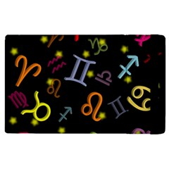 All Floating Zodiac Signs Apple Ipad 3/4 Flip Case by theimagezone