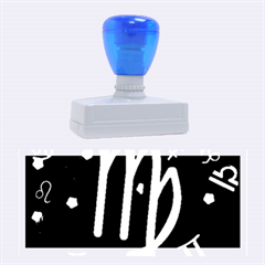 Virgo Floating Zodiac Sign Rubber Stamps (large) by theimagezone