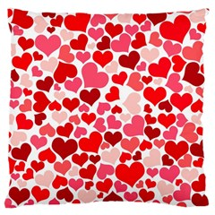 Heart 2014 0937 Large Flano Cushion Cases (two Sides)  by JAMFoto