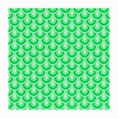Awesome Retro Pattern Green Medium Glasses Cloth by ImpressiveMoments