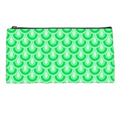 Awesome Retro Pattern Green Pencil Cases by ImpressiveMoments