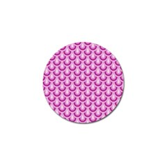 Awesome Retro Pattern Lilac Golf Ball Marker (4 Pack) by ImpressiveMoments
