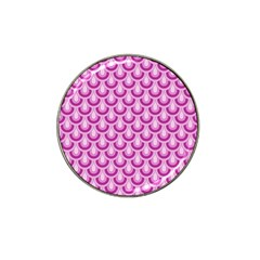 Awesome Retro Pattern Lilac Hat Clip Ball Marker (10 Pack) by ImpressiveMoments