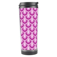 Awesome Retro Pattern Lilac Travel Tumblers by ImpressiveMoments